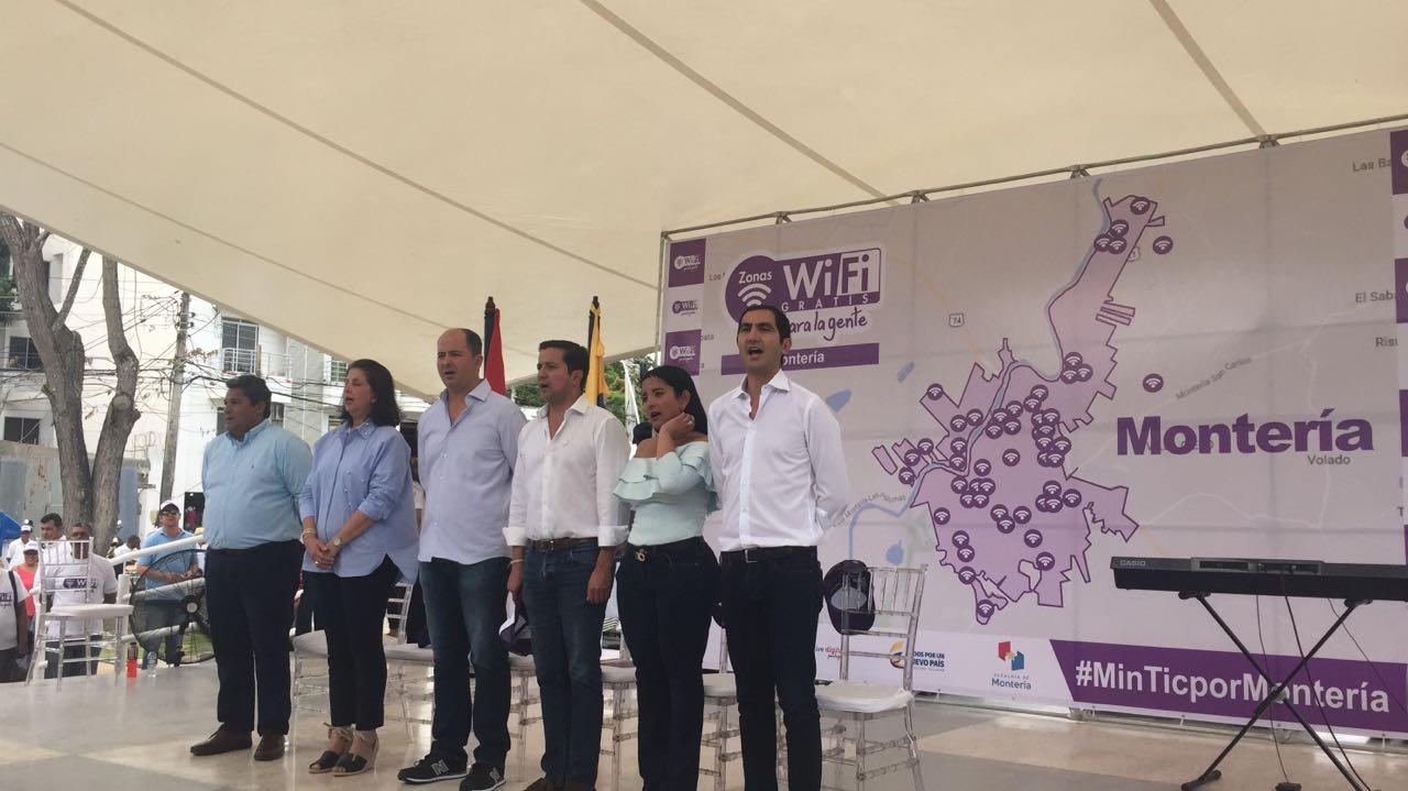 Inauguradas 54 zonas gratuitas de WiFi