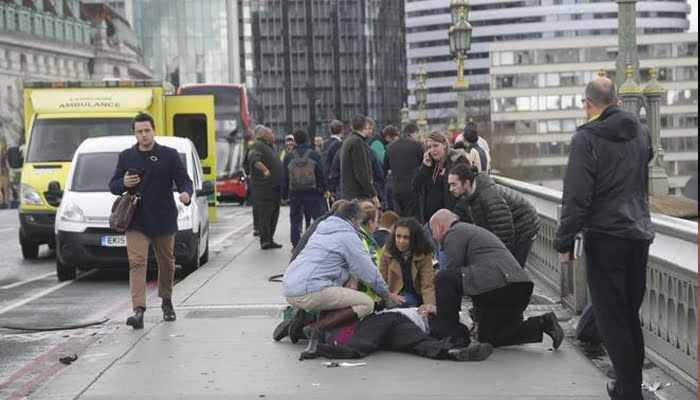 «Incidente terrorista» en Londres