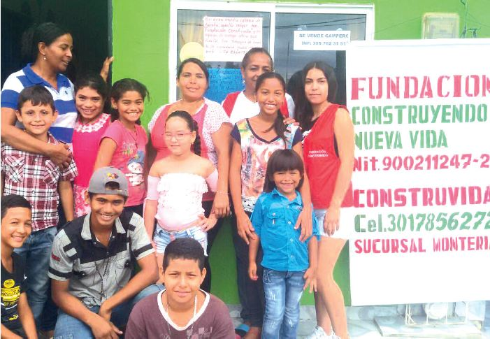 Construvida: Una fundación llena de amor y esperanza para las comunidades más necesitadas de Montería