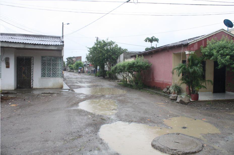 En épocas de invierno es fatal para los habitantes de Mogambito