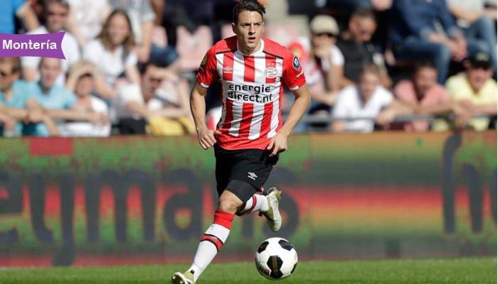 Santiago Arias jugador del PSV holandés y de la Selección Colombia estará en Montería