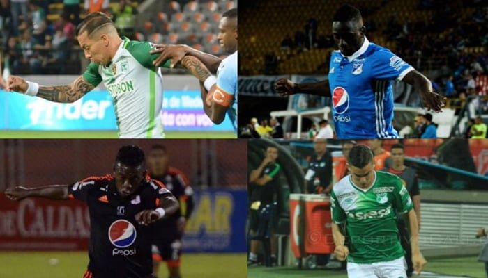 4 de los grandes del fútbol colombiano están en las semifinales de la Liga Aguila I