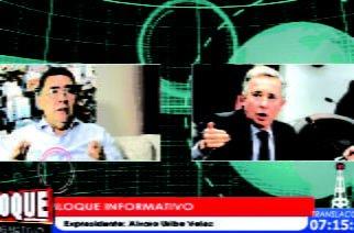 Álvaro Uribe Vélez habla de política y corrupción