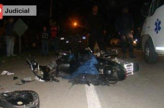 Una persona pierde la vida en accidente de tránsito