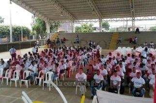 Un total de 57 jóvenes desplazados recibieron su libreta militar gratuitamente