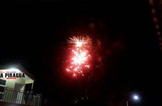 Con juegos pirotécnicos Inició celebración del Día de la independencia en Moñitos