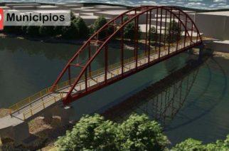 Inicia la construcción del puente sobre la quebrada de Uré
