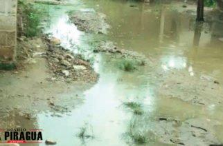 Barrio San Nicolás en San Carlos en emergencia por inundaciones