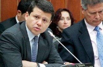 Suspenden curul del senador Bernardo 'Ñoño' Elías