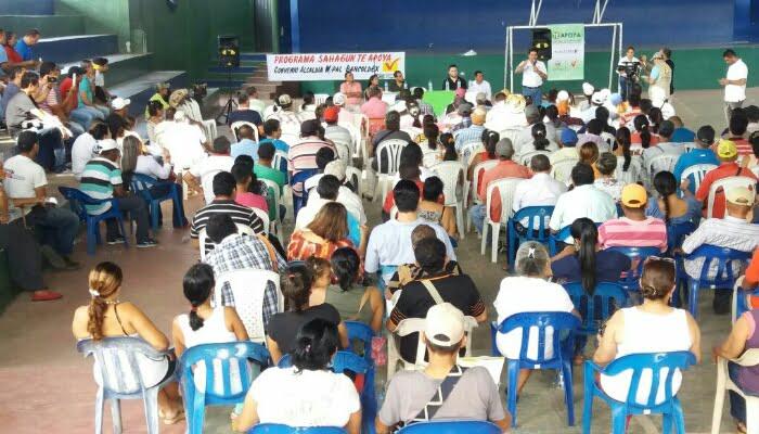 Se cumplió lanzamiento oficial del Programa de créditos Sahagún te Apoya