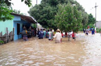En Santiago Abajo Sahagún, El agua no da tregua, Gobierno censa 30 familias damnificadas