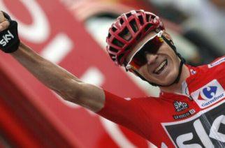 Froome positivo por dopaje y puede perder el título de la Vuelta España