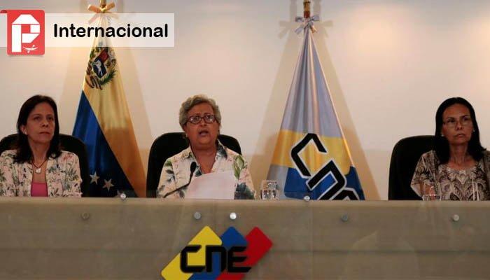 CNE prohíbe a la Oposición aspirar a la gobernación en 7 estados del país