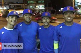 Tres cordobeses se preparan para participar en el Panamericano de Béisbol Sub 15