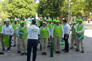 Secretaría de Tránsito implementa guardianes de movilidad para el control vehicular