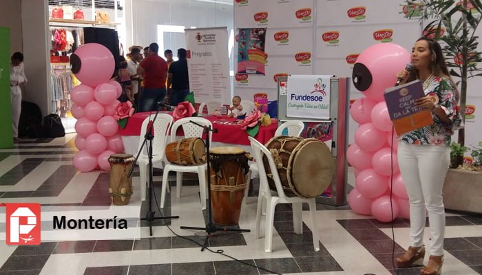 En Montería se celebró la Semana Mundial de la Lactancia