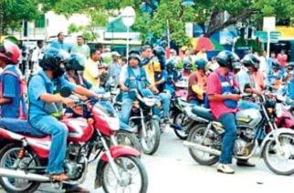Policía de Tránsito hace recomendaciones al mototaxismo