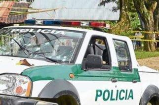 En zona rural de Turbo, Antioquia realizan emboscada a patrulla de la Policía