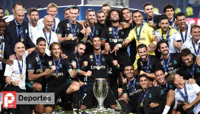 Real Madrid se consagra campeón de la Supercopa de Europa