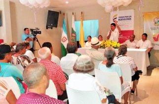 En Sahagún, entregaron indemnización a víctimas del conflicto armado