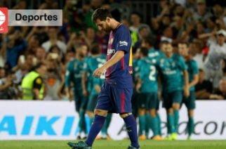 Real Madrid vence al Barcelona en la ida de la Supercopa de España