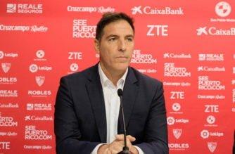 El técnico del Sevilla habló sobre Muriel
