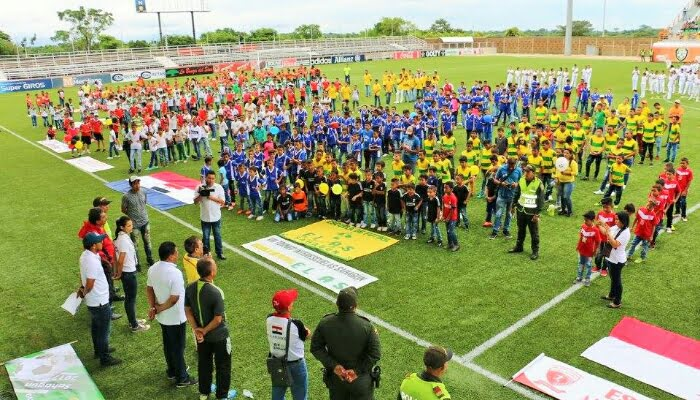 En Sahagún, seinauguró VIII torneo infantil inter escuelas de fútbol