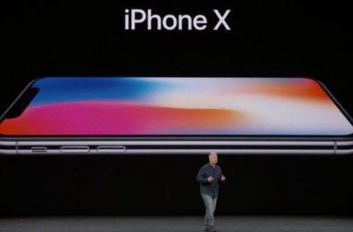 Nuevo iPhone X se desbloqueará con reconocimiento facial