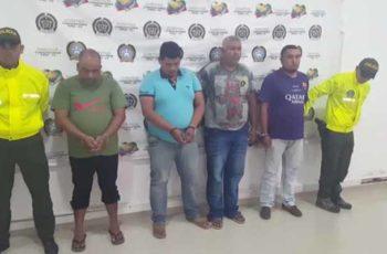 Capturadas cinco personas integrantes del Clan del Golfo