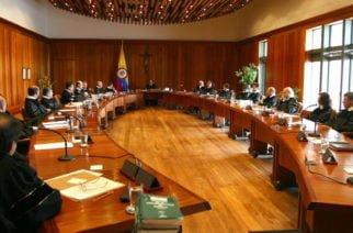 Se frenó blindaje jurídico del acuerdo de paz en la Corte Constitucional
