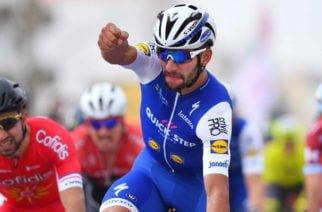 Fernando Gaviria gana la cuarta etapa en la Vuelta a Gran Bretaña