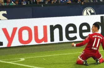 James Rodríguez marcó su primer gol con el Bayern Múnich