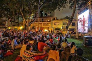 Juanchaco y Ladrilleros por primera vez vivieron la magia del cine