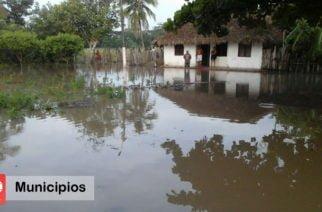 Zonas rurales de Ciénaga de Oro bajo el agua