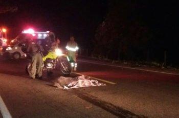 Mujer fue arrollada por un carro fantasma