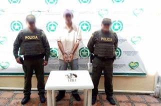 Una persona fue capturada por porte ilegal de arma de fuego