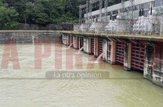 Aumentan los aportes hidrológicos al embalse Urrá