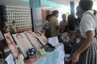 Feria de la ciencia y la creatividad en IE Marcelino Polo en Cereté