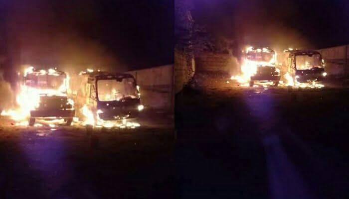 En Arboletes fueron quemados dos buses de Sotracor