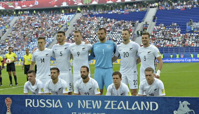 Nueva Zelanda espera a Perú para un cupo en el Mundial de Rusia