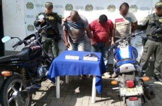 Tres personas capturadas por porte ilegal de armas