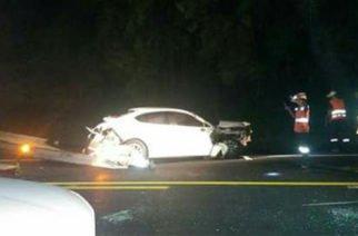 Así fue el accidente de anoche, en la vía Planeta Rica- Montería