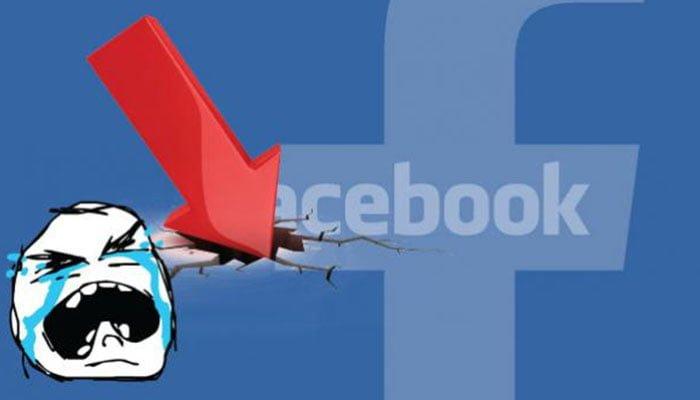 Facebook presenta una caída en varias partes del mundo