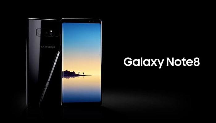Samsung regaló 200 Note 8 en pleno vuelo