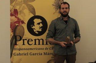 El escritor Alejandro Morellón Mariano ganó el Premio Hispanoamericano de Cuento Gabriel García Márquez 2017
