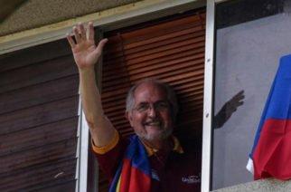 Antonio Ledezma escapó por Colombia del régimen de Maduro