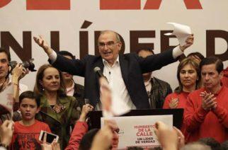 Humberto de la Calle es el candidato a la presidencia por el partido Liberal
