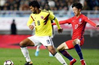 Sorpresivamente Colombia perdió 2-1 ante Corea del Sur