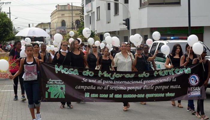 Las Asociaciones de Mujeres en Córdoba protestas por sus derechos