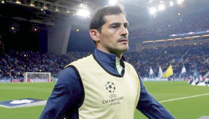 Iker Casillas gana Premio Golden Foot 2017